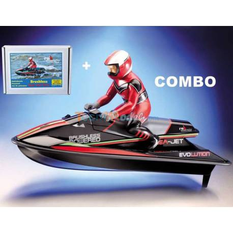 Combo Sea-Jet + motorisation brushless