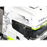 Flèches Danoises adhésives pour cabine Scania 1/14 LESU ZK-K019-3