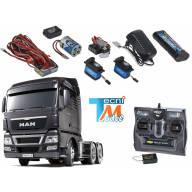 Pack complet MAN TGX 6x4 Tamiya