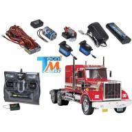 Camion Tamiya King Hauler + Truck-Set Carson