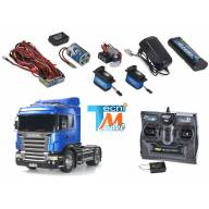 Pack complet Scania R470 4x2 Tamiya