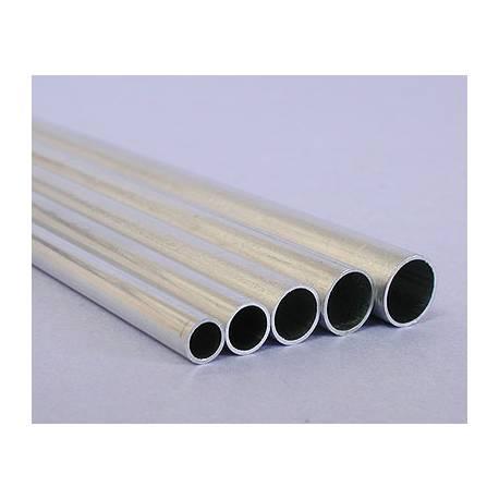 Tube en aluminium 2,0/1,6 mm