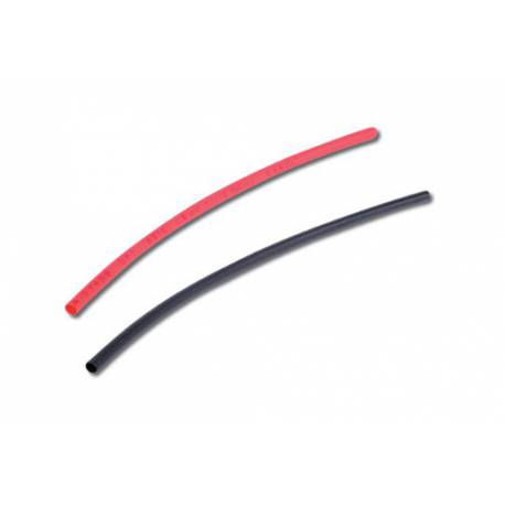 TUBE THERMO 6mm ROUGE NOIR 2x50cm