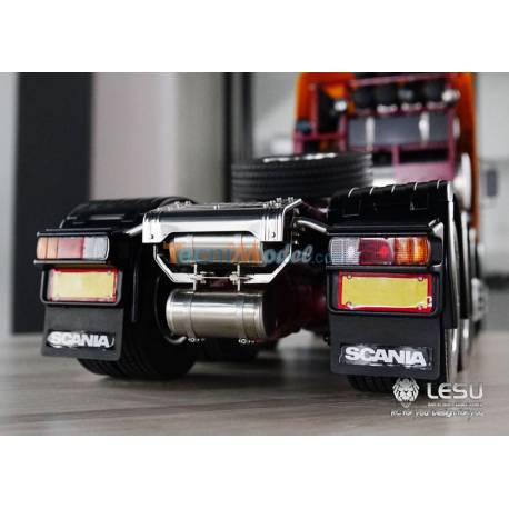 Support de feux arrières + traverse + 2 réservoirs LESU G-6200-B