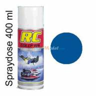 RC 50 bleu 400 ml aérosol RC Colours KRICK 320050