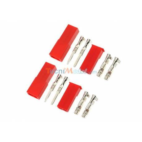 2 Paires de connecteurs BEC Mâle Femelle GFORCE GF-1010-001
