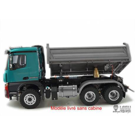 LESU Arocs 3348 tri-benne hydraulique 6x6