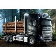 Camion Tamiya 56360 Volvo FH16 Globetrotter + Carson Truck-Set