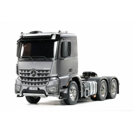 Tamiya Camion Mercedes Arocs 3363 6x4 CLASSIC SPACE TAMIYA 56359 1/14 Light Gun Metal