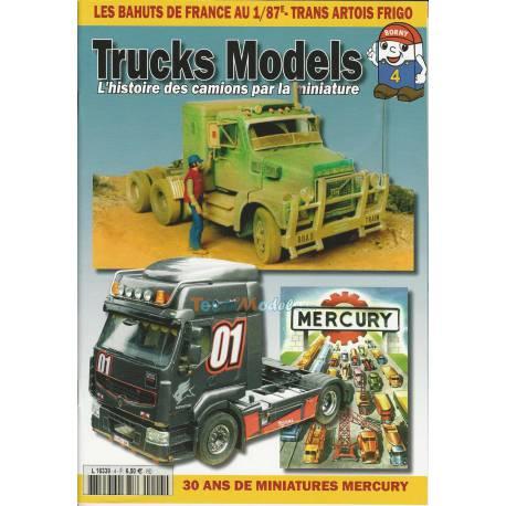 Revue Trucks Models n°4 Janvier/Février 2019