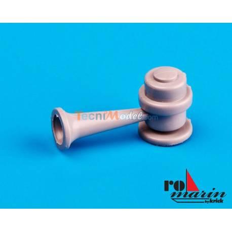2 Trompes 24mm x 12mm KRICK RO1399