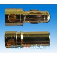 Connecteur Or 3,5 mm male/femelle