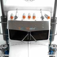 Casquette Inox pour King Hauler et Grand Hauler Tamiya LESU GW-K021