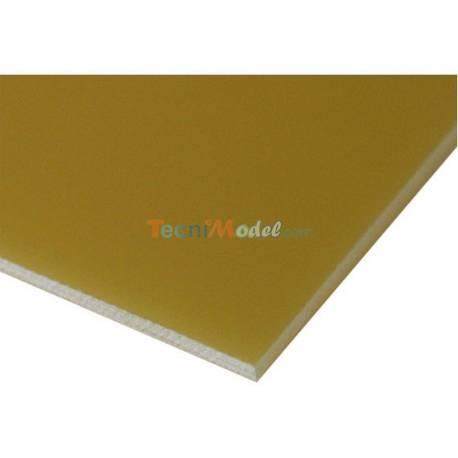 Plaque en fibre de verre 2.5mm 150mm x 350mm