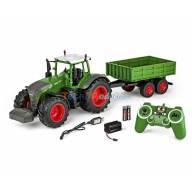 Tracteur agricole Fendt 1050 Vario et remorque 1/16 RTR CARSON 500907314