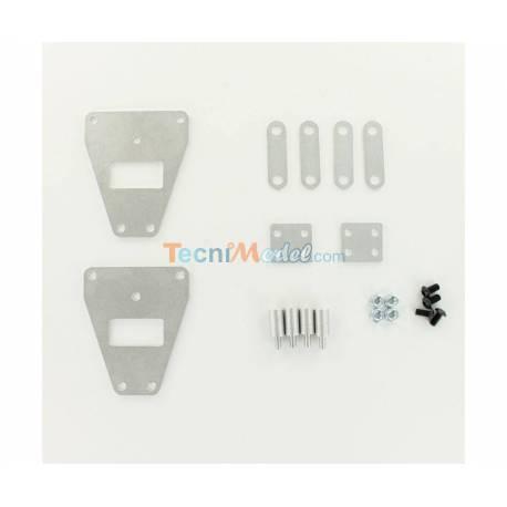 Set de réhausse 8mm de suspension pour tandem camion Tamiya