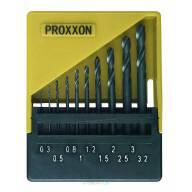 Forets en HSS DIN 338 jeu de 10 pièces de 0,3 à 3,2 mm