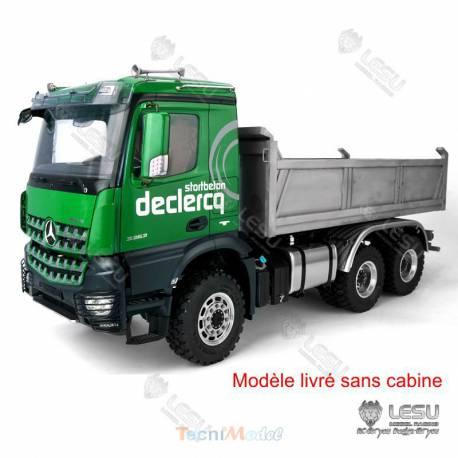 LESU Camion benne Arocs 3348 hydraulique 6x6 (sans cabine)