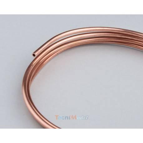 Tube de cuivre Ø3mm x Ø2mm 1m KRICK 22370