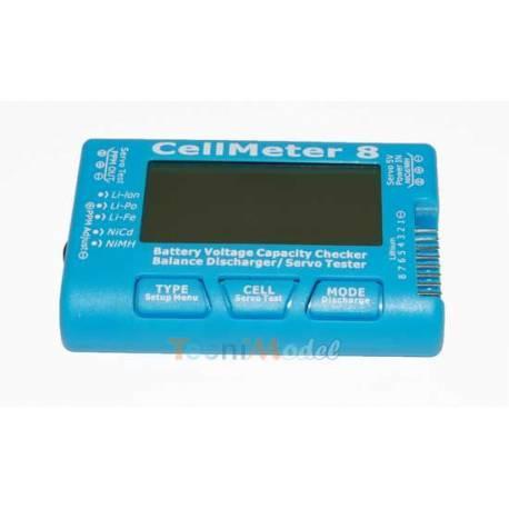 CellMeter-8 Testeur d'accus et de servos PROTRONIK Z032098