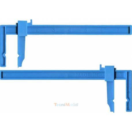 2 Serre-joint plastique grand modèle 180mm KRICK 455664