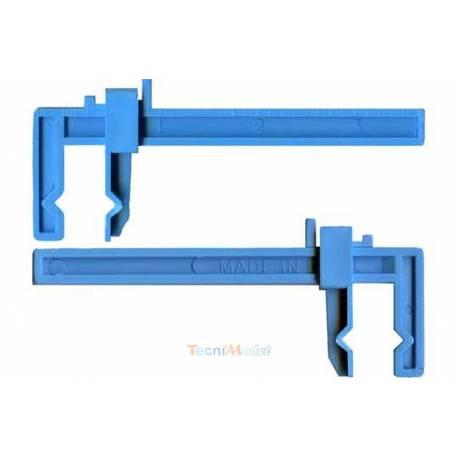 2 Serre-joint plastique petit modèle 85mm KRICK 455663
