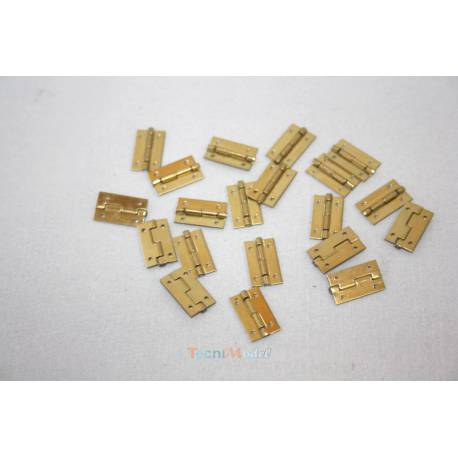 10 Charnières 9x20mm AERONAUT 780905