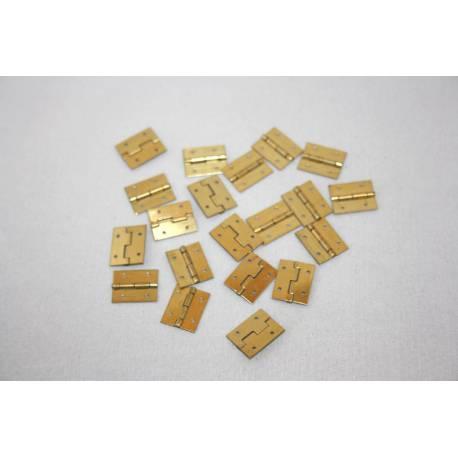 10 Charnières 12x15mm AERONAUT 780906