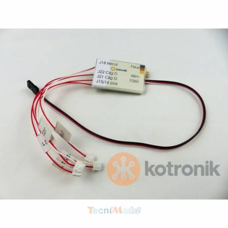 Adaptateur MFU/Kotronik F1060