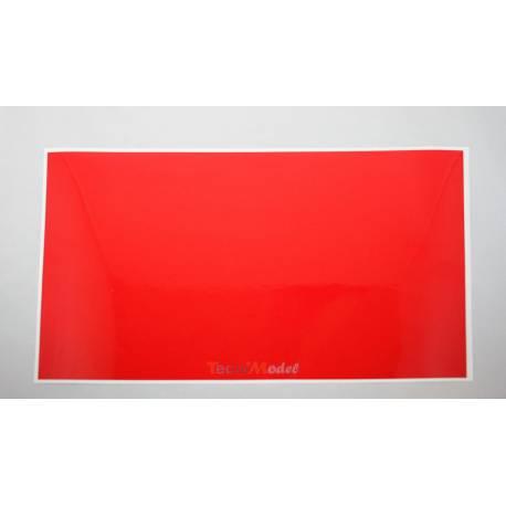 Adhésif rétroréfléchissant rouge 20x30cm