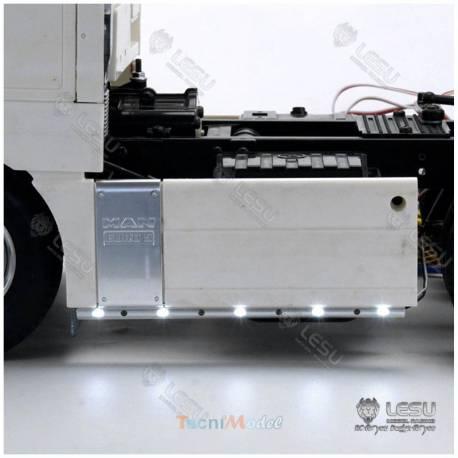 Barres de leds latérales courtes (pour camions RC 6x4) LESU S-1268-A