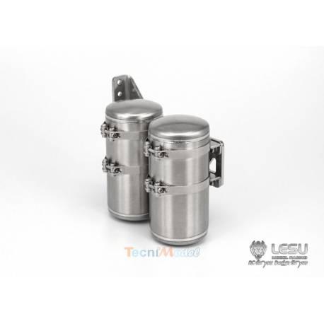 Réservoirs d'air pour camions rc 1/14 LESU G-6170