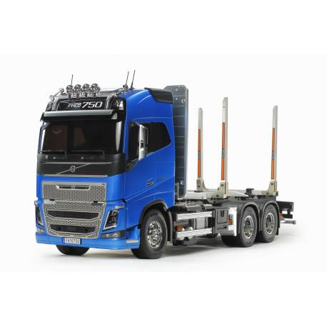 Camion RTR Tamiya Volvo FH16 Globetrotter 750 6×4 Grumier 1/14