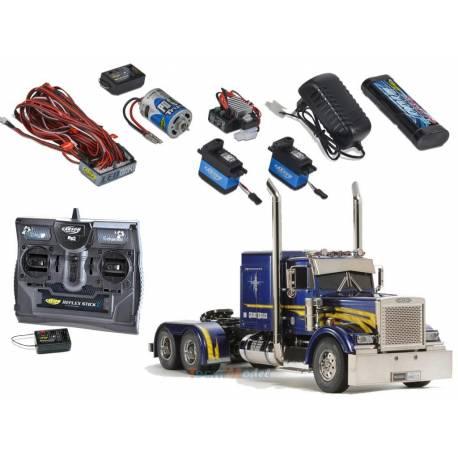 Camion Tamiya Grand Hauler + Truck-Set Carson