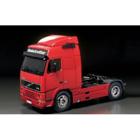 Camion RC Tamiya 23646 RTR Volvo FH12 Rouge 1/14 avec MFC-03 (Prêt à rouler)