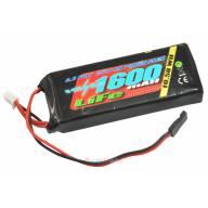 Batterie LiFe VOLTZ 1600mah 2S 6.6V prise BEC