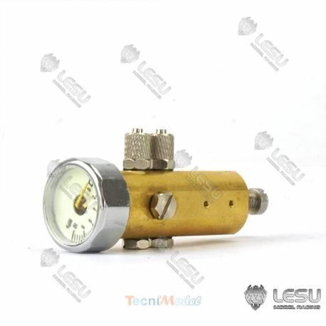 Régulateur de pression hydraulique avec manomètre LESU Y-1512-B