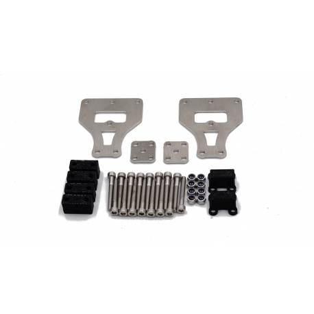 Kit de réhausse de suspensions de 10mm pour camions Tamiya 6x4 Scale-Parts SP-01-04-053