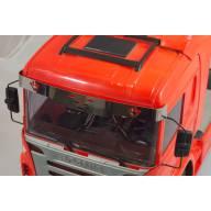 Visière pour Scania Tamiya 1/14 avec emblème V8 Scale-Parts SP-01-04-029