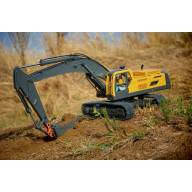 Excavatrice hydraulique RC Eagle Machinery JD-106 1/14 Volvo 360L RTR