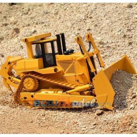 Bulldozer Hydraulique Eagle Machinery JD-98 RC 1/14 JDM D10 RTR
