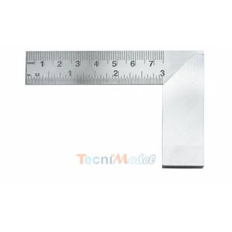 """Équerre 76mm en acier / SCIENTIFIC FRANCE S032E60019 / Excel Blades 60019 3"""" Machine Square"""