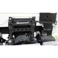 Verrou de cabine en acier noir pour camion Tamiya - LabModel company ET00010