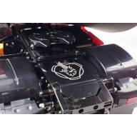 Couvre Châssis arrière poli pour Scania 4x2 et 6x4 à motif gravé Griffon SCALE PARTS SP-01-04-78B