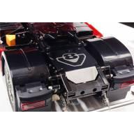 Couvre Châssis arrière poli pour Scania 4x2 et 6x4 à motif gravé V8 SCALE PARTS SP-01-04-078A