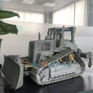 Bulldozer à chenilles RC Aoue DT60 LESU BA B-0004 1/14