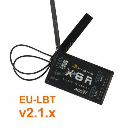 Recepteur 2.4 Ghz X8R 8/16 voies FRSKY EU-LBT v2.1.x