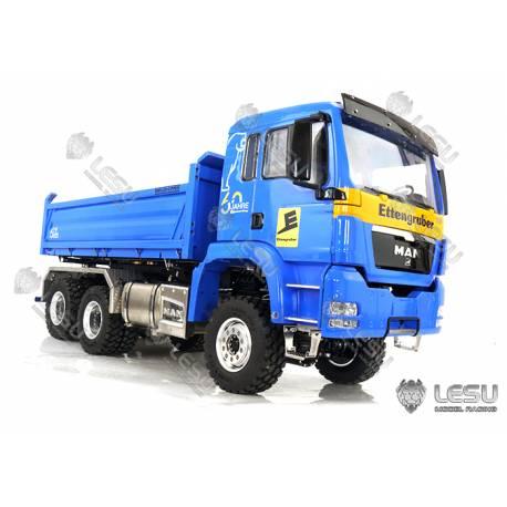MAN tri-benne hydraulique 6x6 LESU LS-Z0018