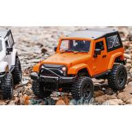 Mini crawler 4x4 Orange 1/14 avec Hard Top MHDPRO / Scientific France Z8401