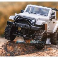 Mini crawler 4x4 Blanc 1/14 avec arceau MHDPRO / Scientific France Z8404